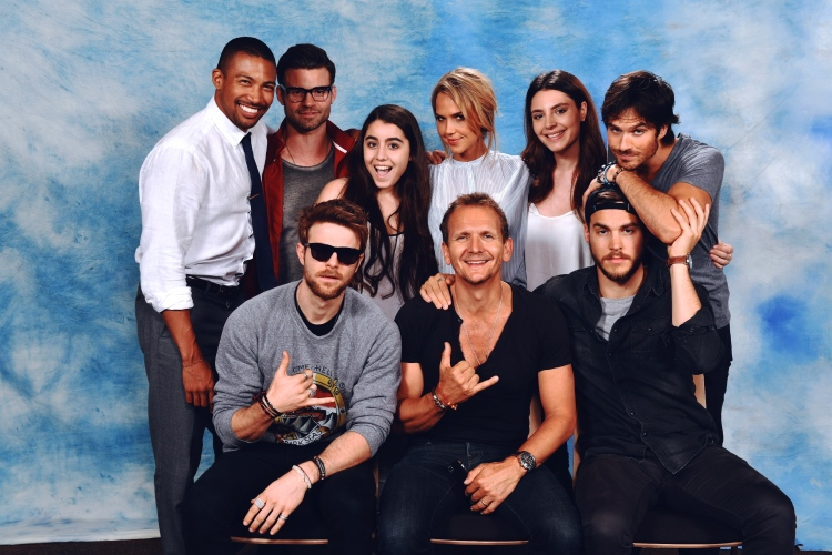 In May I met the actors from The Vampire Diaries, I really had a lot of fun, and all the actors were extremely nice! Thank you so much Guest Events for this amazing experience!