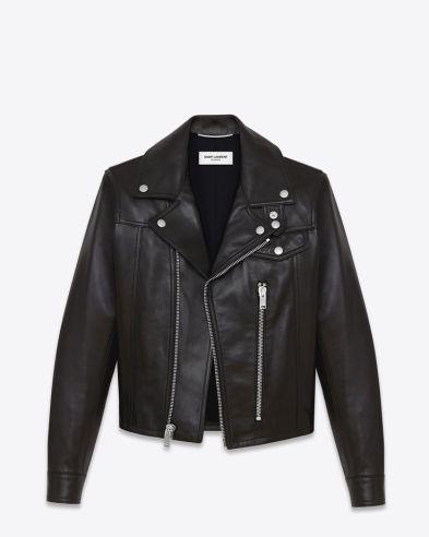 YSL Leather Jacket
