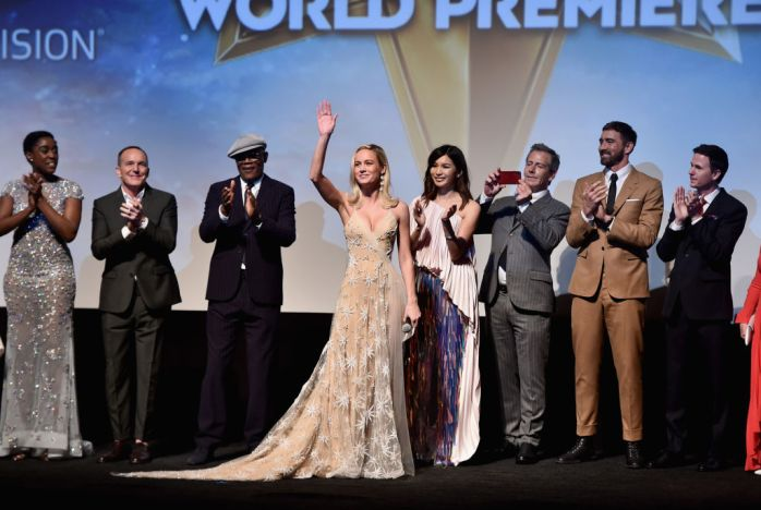 "Los Angeles World Premiere Of Marvel Studios' ""Captain Marvel"""